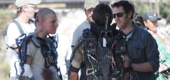 Elysium_-_BTS_-_Neil_Blomkamp_and_Matt_Damon