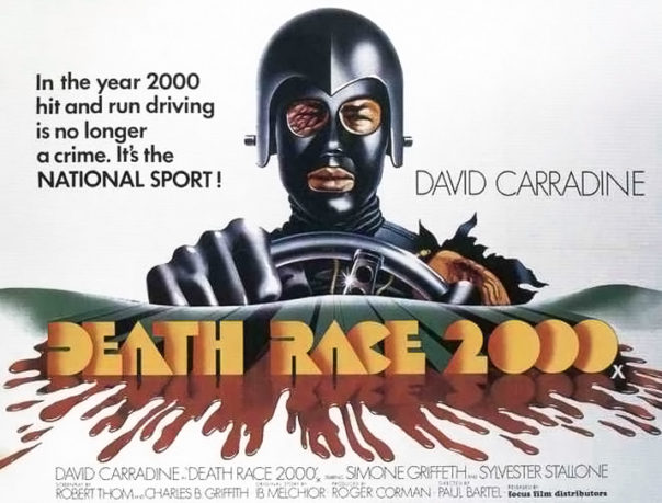 David Carradine i Death Race 2000